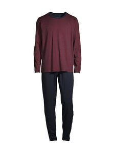 Schiesser - Pyjama - 502 DARK RED | Stockmann