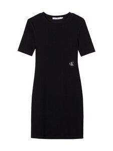 Calvin Klein Jeans - Slub Rib 3/4 Sleeves -mekko - BEH CK BLACK   Stockmann