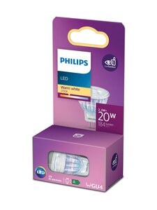 Philips - LED Spot 20W GU4 Warm White -spottilamppu - WHITE | Stockmann