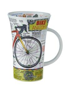 Dunoon - Glencoe Bike Anatomy -muki 500 ml - VALKOINEN/MONIVÄRINEN | Stockmann