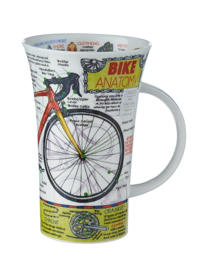 Glencoe Bike Anatomy -muki 500 ml