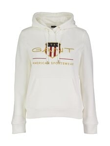 GANT - Archive Shield Sweat Hoodie -huppari - 113 EGGSHELL | Stockmann