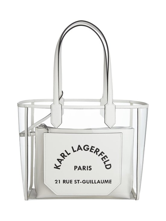 Karl Lagerfeld - K/Journey Transparent Tote -laukku - WHITE A100 | Stockmann - photo 1