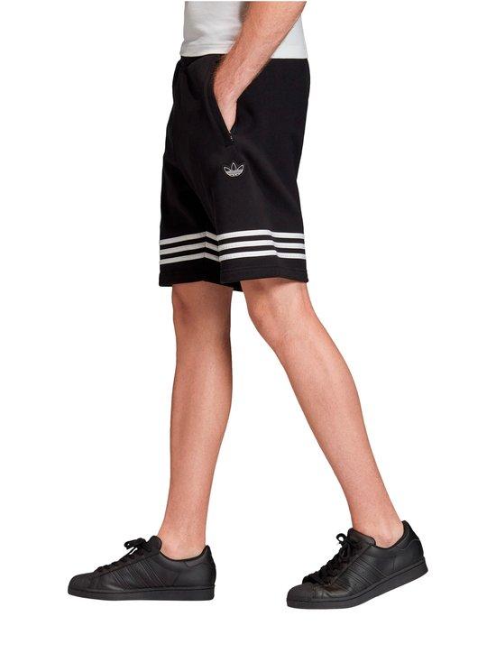 adidas Originals - Outline-collegeshortsit - BLACK | Stockmann - photo 4