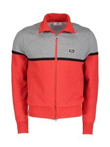 Ami - Bicolor Zipped Jacket -takki - GREY/RED/067 | Stockmann