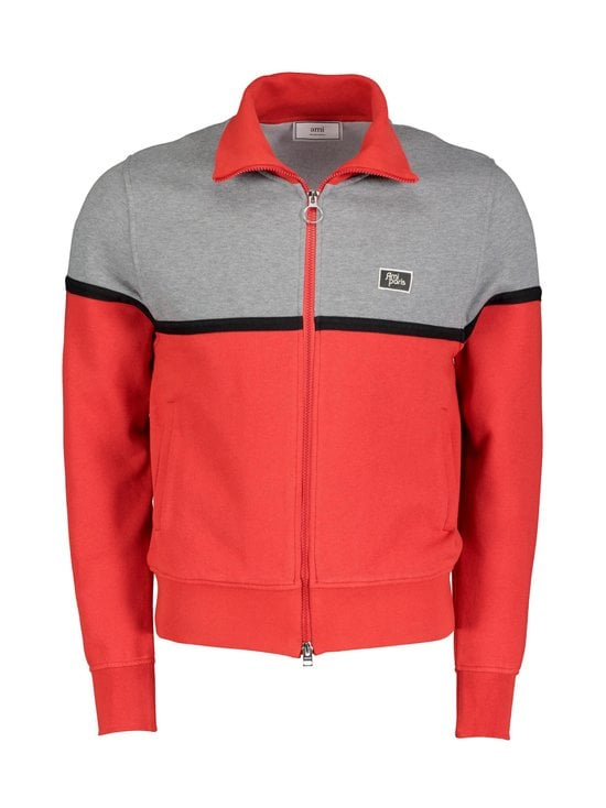 Bicolor Zipped Jacket -takki
