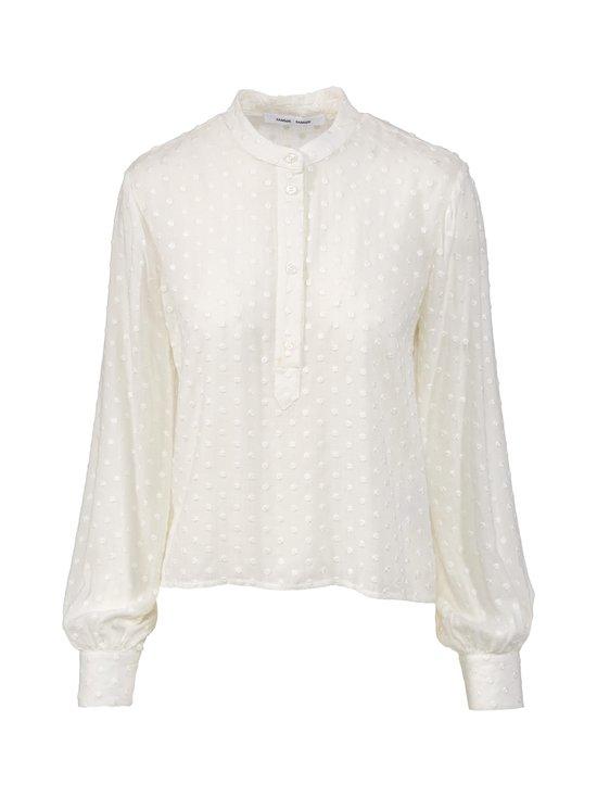 Samsoe & Samsoe - Jossie Shirt -pusero - OFFWHITE BLANC DE BLANC   Stockmann - photo 1