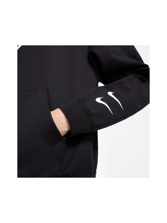 Nike - W Sportswear Swoosh Hoodie -huppari - 010 BLACK/WHITE | Stockmann - photo 7