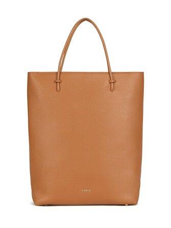 Essential M Tote leather bag - Furla