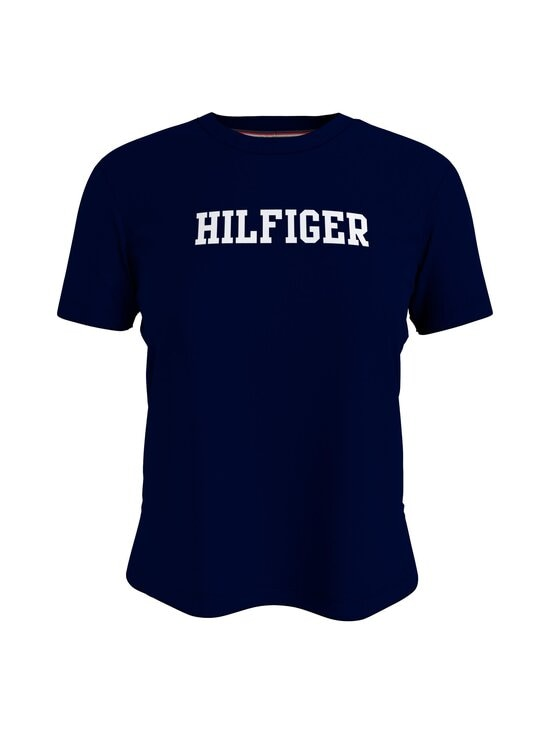 Tommy Hilfiger - CN TEE SS HILFIGER -pyjamatoppi - DW5 DESERT SKY | Stockmann - photo 1