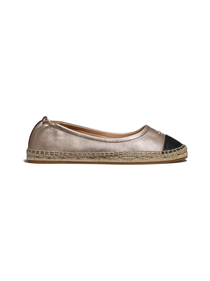 Camryn Metallic Leather -espadrillot