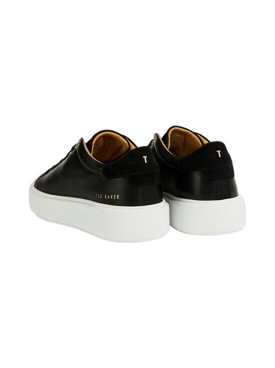 Ted Baker London - Yinka Leather Platform Trainer -nahkasneakerit - 00 BLACK | Stockmann - photo 4