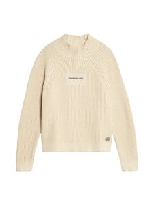 Calvin Klein Kids - Oco Mock Neck Boxy Sweater -neule - PGB WHITECAP GRAY | Stockmann