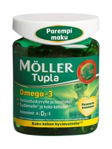 Möller - Möller Tupla -kalaöljyvalmiste 100 kaps./90 g | Stockmann