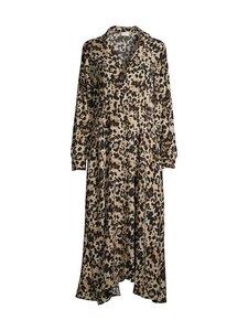Vila - ViMemis LS Midi Shirt Dress -paitamekko - BLACK AOP:LEO | Stockmann