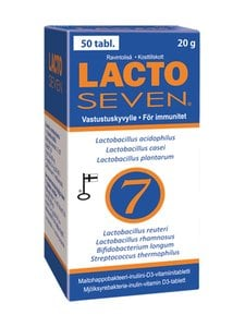 Vitabalans - Lacto Seven -ravintolisä 50 tabl./20 g - null | Stockmann