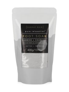 Sunday Rain - Foot Soak Charcoal -jalkakylpyjauhe 400 g | Stockmann
