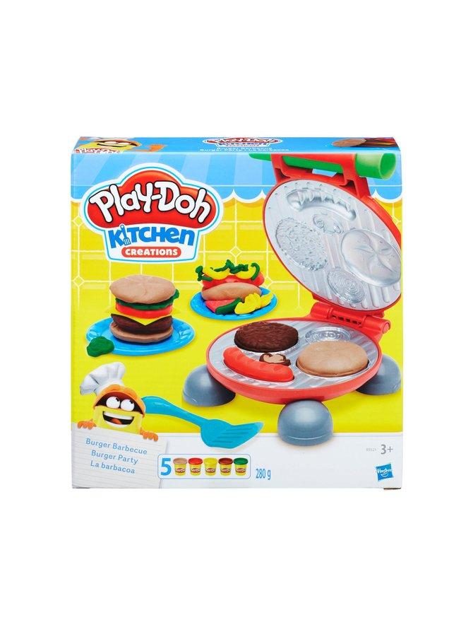Hasbro Play-Doh Kitchen Hampurilaisgrilli