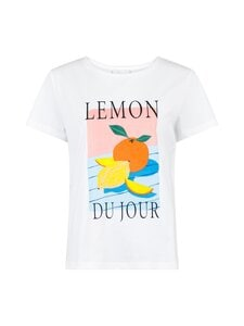 Neo Noir - Parva Fruit Tee -paita - 966 LEMON DROP   Stockmann