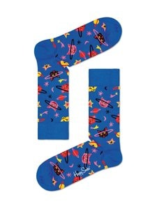 Happy Socks - Space Cat-sukat - 6300-BLUE | Stockmann