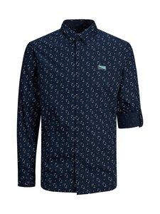 JACK & JONES junior - JcoTexas Shirt Ls Plain -paita - NAVY BLAZER | Stockmann