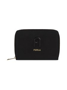 Furla - Rita M Zip Around -nahkalompakko - O6000 NERO | Stockmann