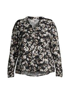 cut & pret PLUS - Jane Plus -pusero - BLACK/OFFWHITE/BEIGE FLOWER | Stockmann