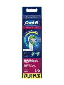 Oral-B - Floss Action -harjaspää 4 kpl - WHITE | Stockmann