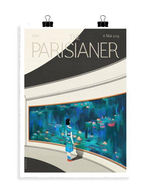 The Parisianer N40 Ponzi -juliste 56 x 76 cm