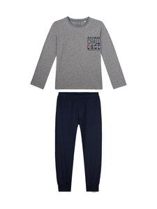 Sanetta - Teens Boy Racing Academy -pyjama - 1914 ELITE GREY MEL.   Stockmann