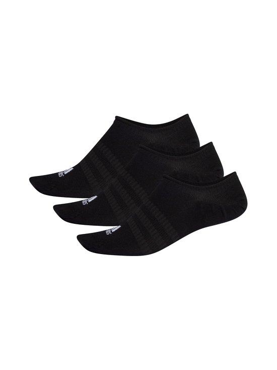 adidas Performance - No-Show-sukat 3-pack - BLACK/BLAC BLACK/BLACK/BLACK | Stockmann - photo 2