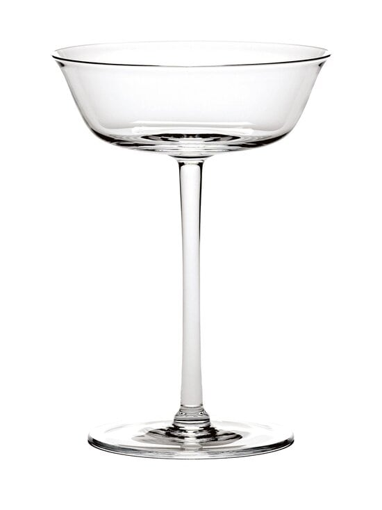 Serax - Glasses by Ann Demeulemeester Coupe Grace -samppanjalasi 15 cl - CLEAR   Stockmann - photo 1
