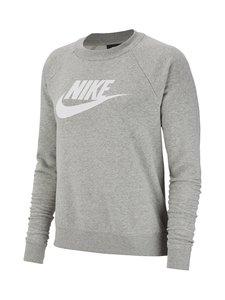 Nike - Sportswear Essential -collegepaita - DK GREY HEATHER/WHITE | Stockmann