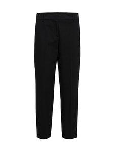 Selected - SlfRia MW Cropped Pant -housut - C-N10 BLACK | Stockmann