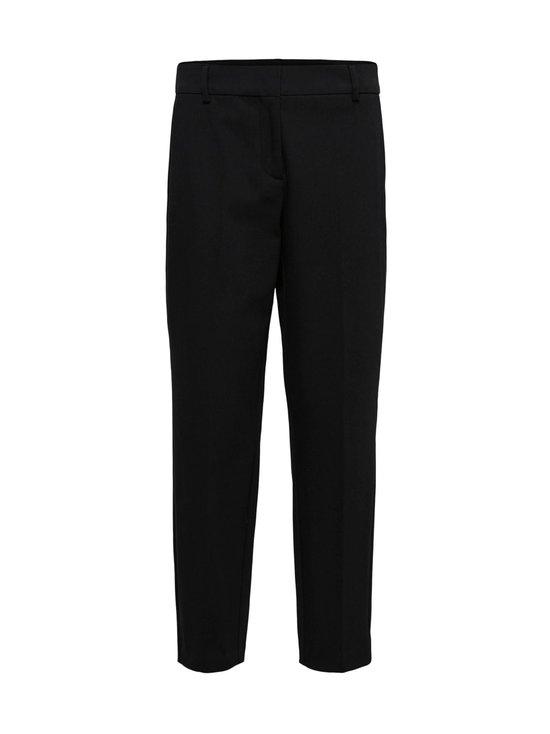Selected - SlfRia MW Cropped Pant -housut - C-N10 BLACK | Stockmann - photo 1