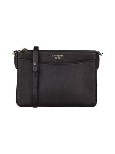kate spade new york - Margaux Medium Convertible Crossbody -nahkalaukku - BLACK | Stockmann