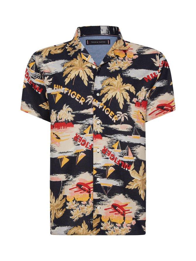 Hawaiian Print Shirt -paita