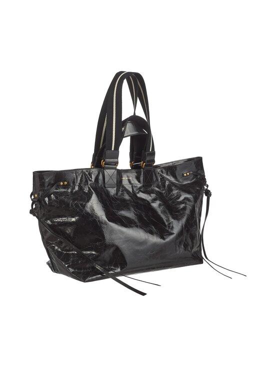 Isabel Marant - Wardy New Large Shopper -nahkalaukku - 01BK BLACK | Stockmann - photo 2