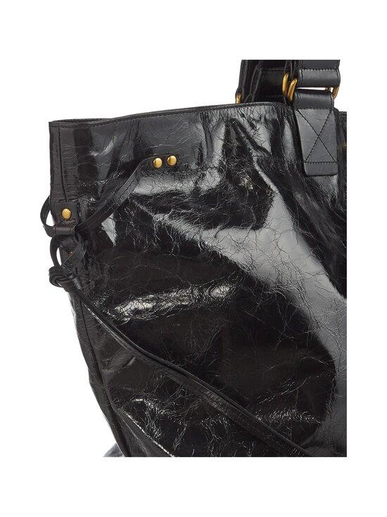 Isabel Marant - Wardy New Large Shopper -nahkalaukku - 01BK BLACK | Stockmann - photo 3