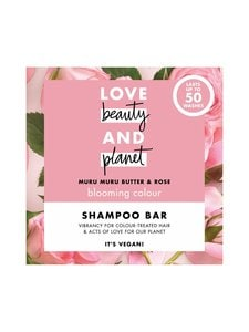 Love Beauty and Planet - Murumuru Butter and Rose Shampoo Bar Love -shampoopala 90 g | Stockmann