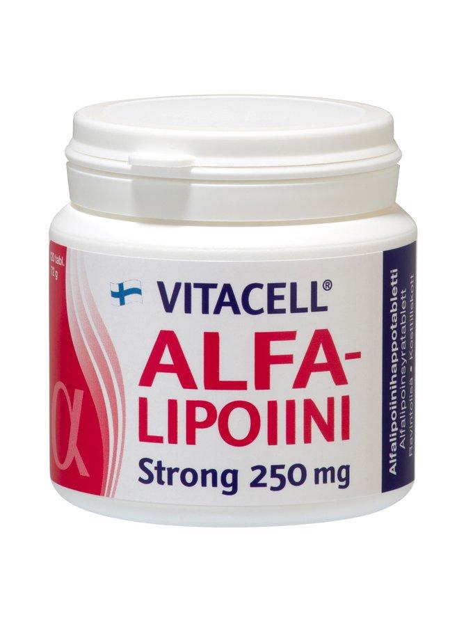Vitacell Alfalipoiini Str 250 mg 72 g