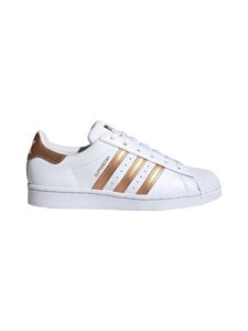 adidas Originals - W Superstar -nahkatennarit - CLOUD WHITE/COPPER METALLIC/CORE BLACK | Stockmann