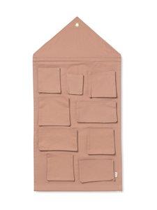 Ferm Living - House Wall Storage -seinälokerikko - DUSTY ROSE | Stockmann