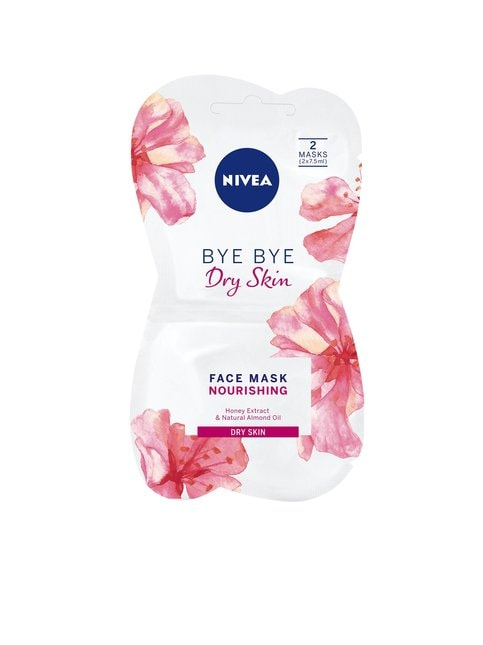 Bye Bye Dry Skin Nourishing Face Mask -kasvonaamio 2 x 7,5 ml