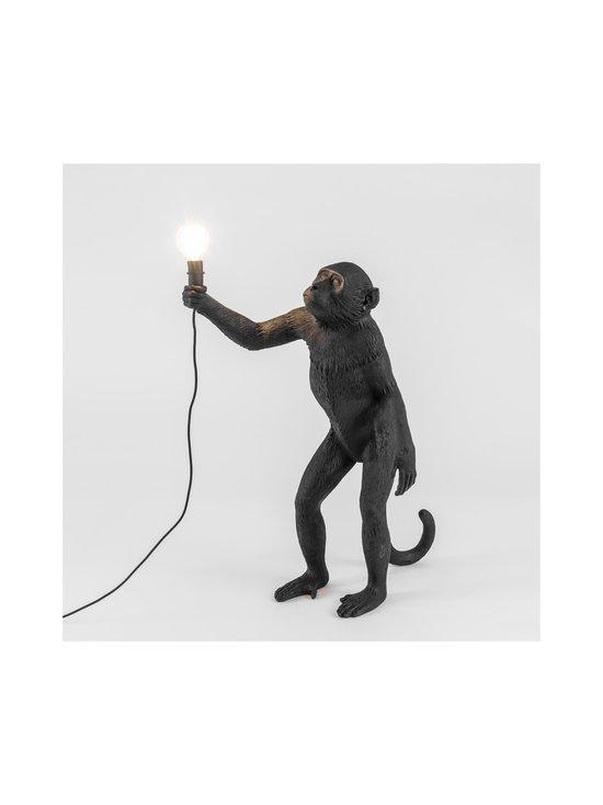 Seletti - Monkey Lamp Standing -pöytävalaisin - MUSTA | Stockmann - photo 2