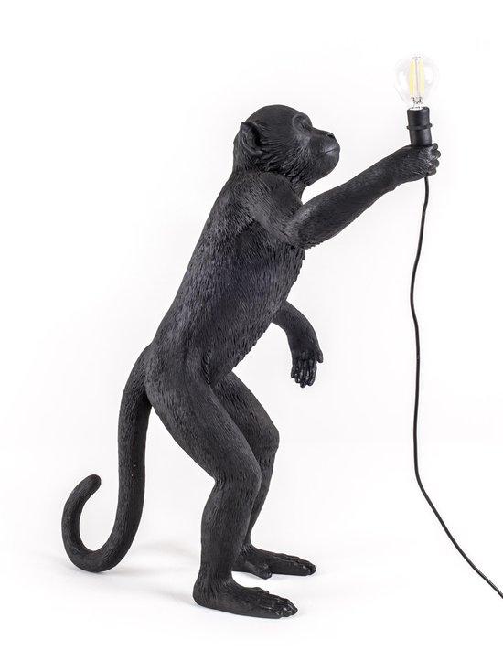 Seletti - Monkey Lamp Standing -pöytävalaisin - MUSTA | Stockmann - photo 3