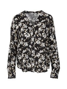 cut & pret - Jane-pusero - BLACK/OFFWHITE/BEIGE FLOWER | Stockmann
