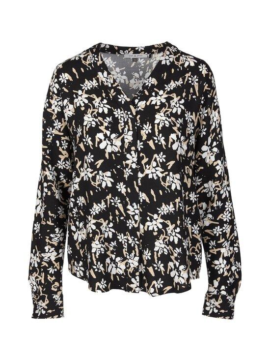 cut & pret - Jane-pusero - BLACK/OFFWHITE/BEIGE FLOWER | Stockmann - photo 1