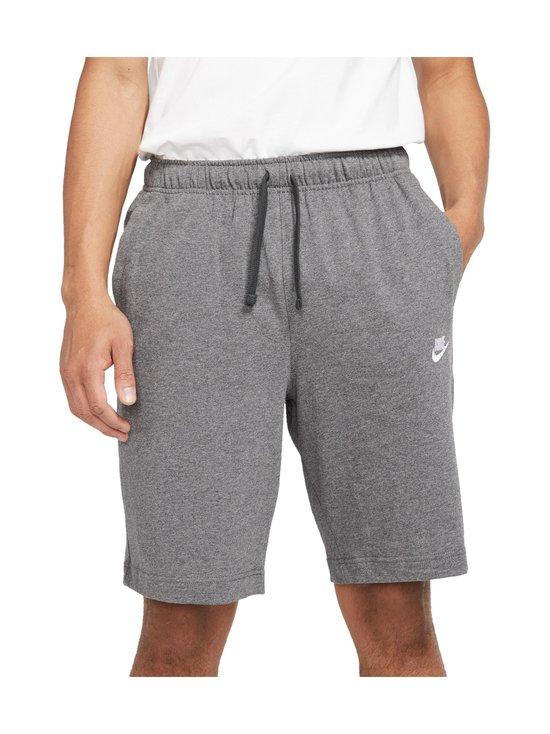 Nike - Sportswear Club Fleece -shortsit - 071 CHARCOAL HEATHR/WHITE   Stockmann - photo 1