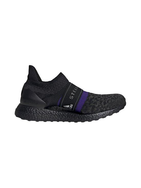 adidas by Stella McCartney - UltraBOOST X 3D Knit -juoksukengät - CORE BLACK/COLLEGIATE PURPLE/PEACH NOUGAT-SMC | Stockmann - photo 1